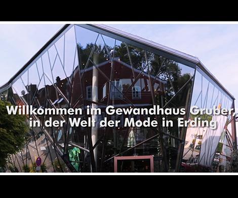 So präsentiert sich das Gewandhaus Gruber in Erding Der Gewandhaus Film