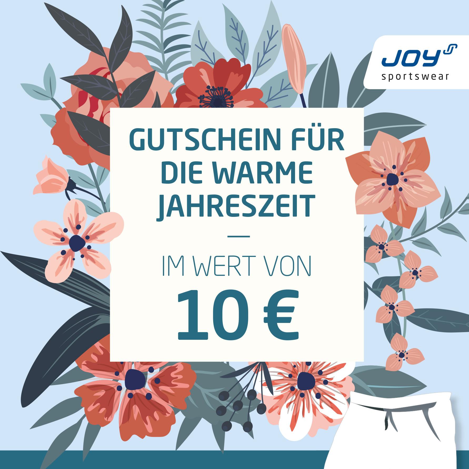 Joy Gutschein geschenkt Gruber Sportlerei in Erding & Wasserburg