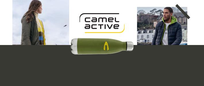 Camel Active Outdoor Casual Wear Hochwertige Trinkflasche geschenkt in Erding