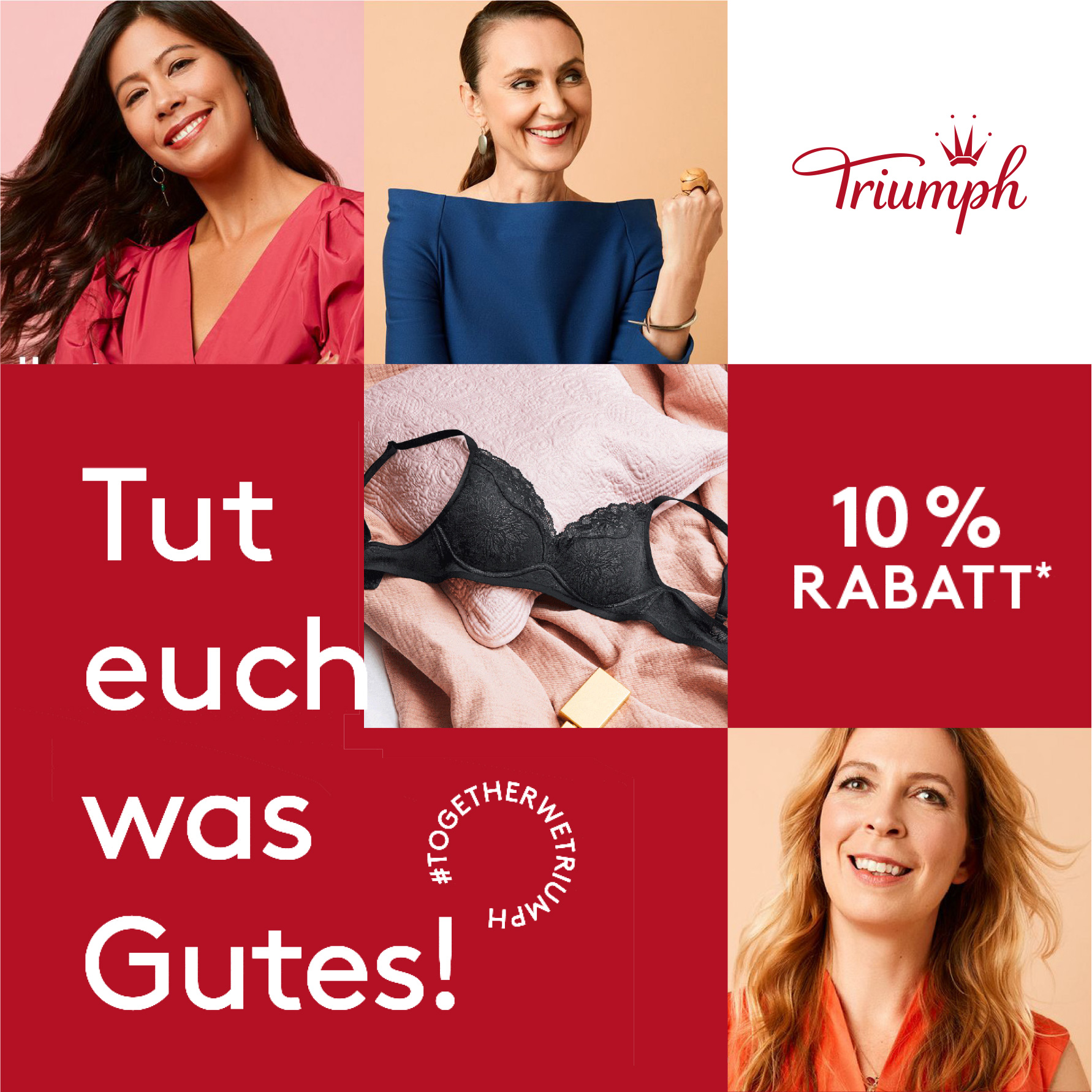 Triumph Alltagsheldinnen 10% Rabatt