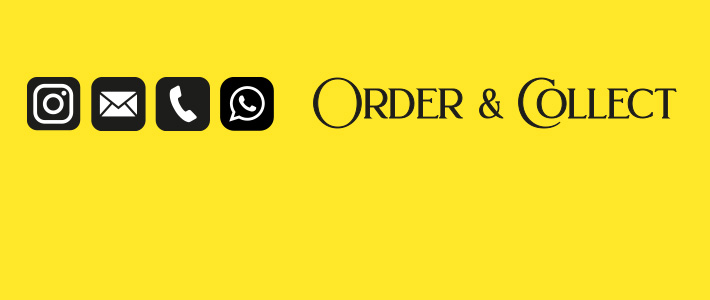 Order & Collect Wir sind für Sie da
