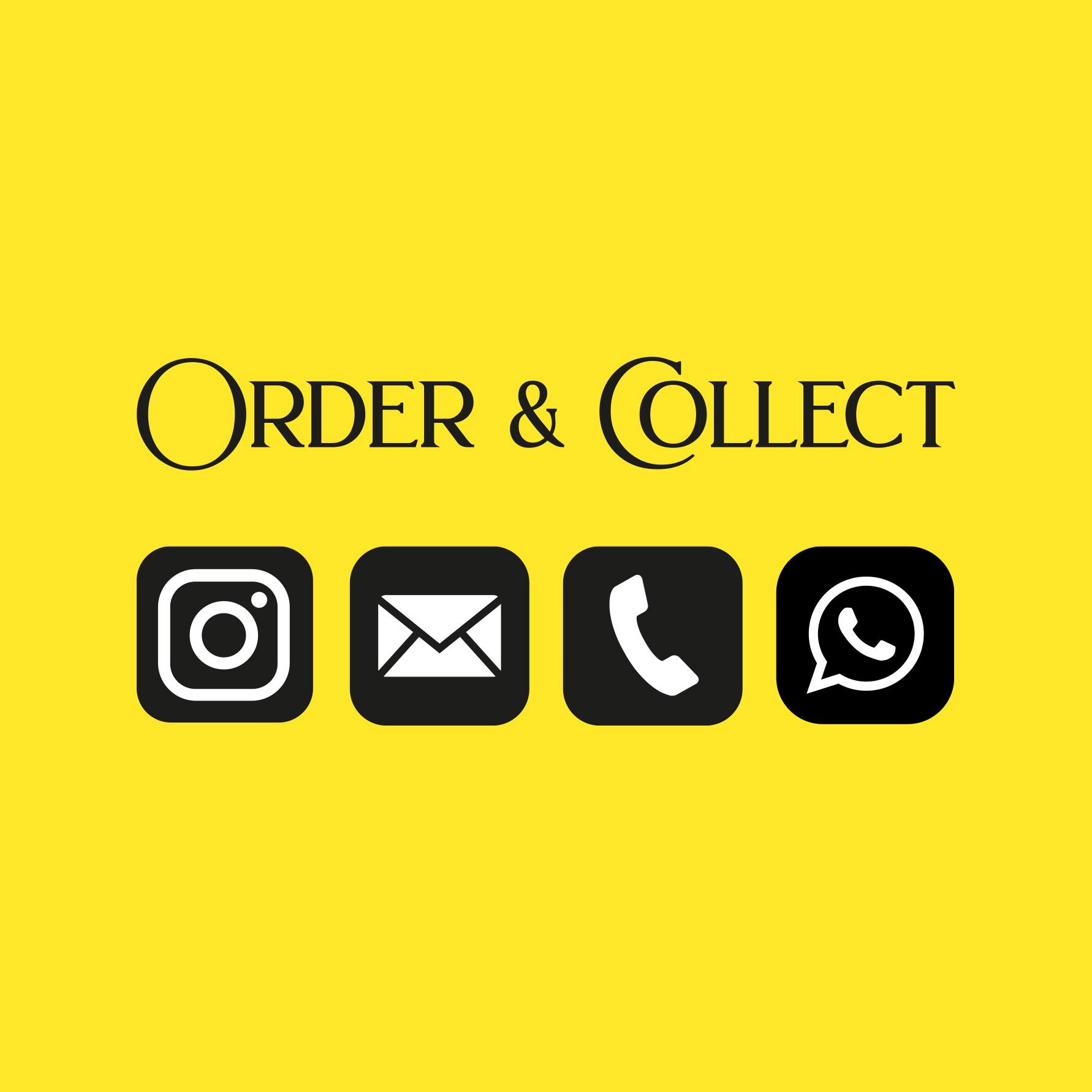 Order & Collect Wir sind für Euch da
