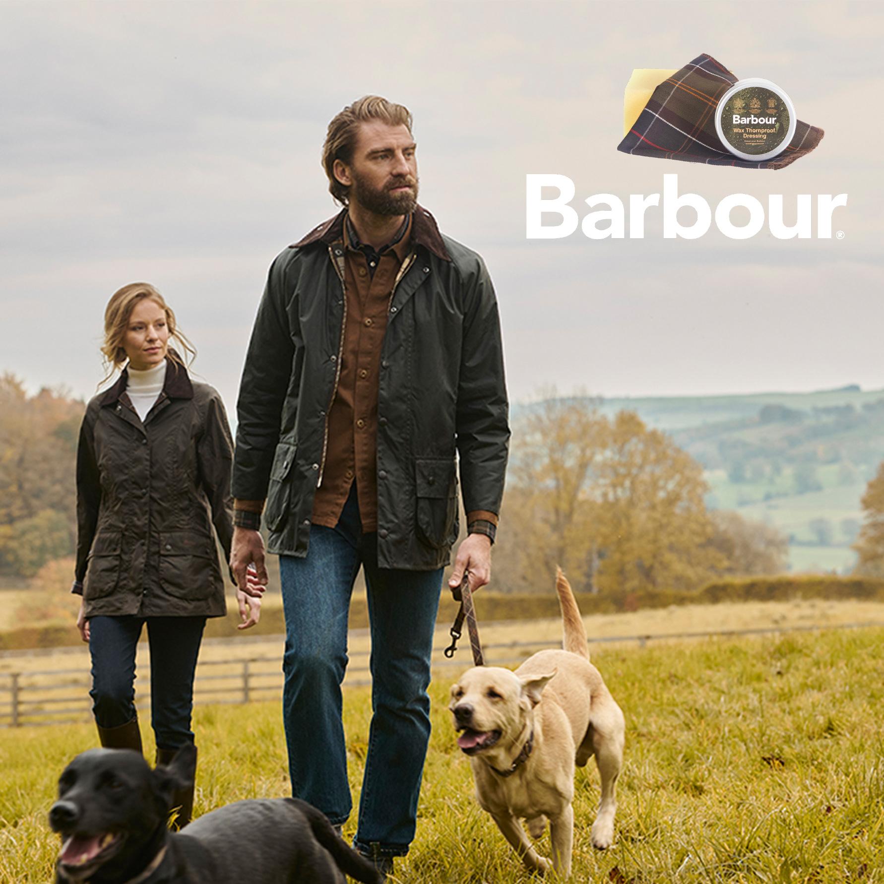 Barbour Wax for Life Ihr Geschenk